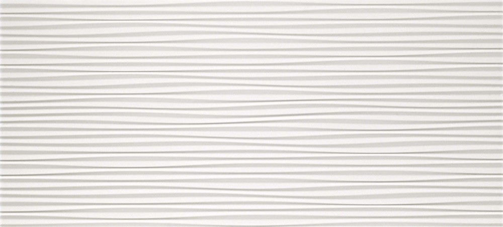 ATLAS CONCORDE 3D Wall Flows White matt. obklad 50x110cm